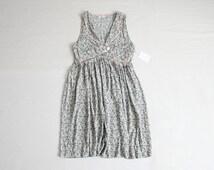 floral ivy dress / 90s floral dress / 90s dress