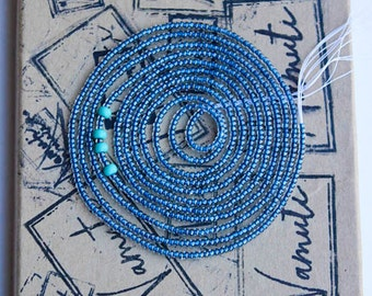 Capri & Turquoise Waist Beads