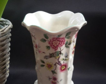 James Kent Old Foley Vase - Chinese Rose