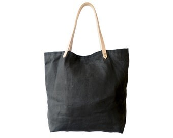 Market Tote | Waxed Canvas