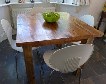 Reclaimed Wood Dining Table - 4 Seater