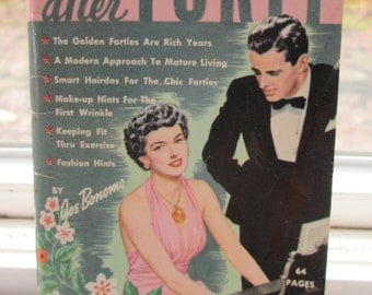 How To Become Lovelier After Forty Booklet. 1954. Bonomo Pocket Handbook.