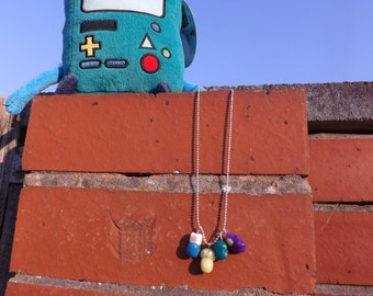 Adventure Time Inspired Necklace Set