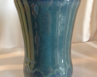 Medium Blue Vase