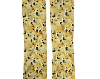 Wow Doge Socks | Funny Meme Socks | Doge Birthday Gift | Meme Socks | Stocking Stuffers | Cool Socks