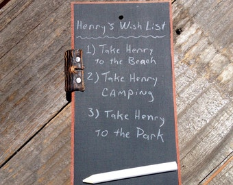 Chalk Board Tablet