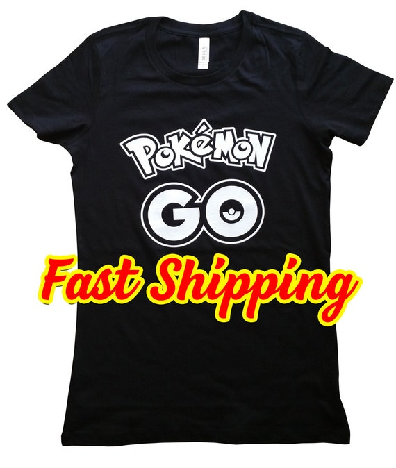 Pokemon Shirt Pokemon Go T Shirt La S Teen Fit On Super Comfy