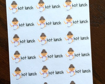 Lunch Lady Planner Stickers