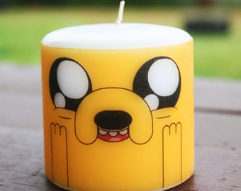 Adventure Time Jake the Dog Pillar Candle Medium Unscented
