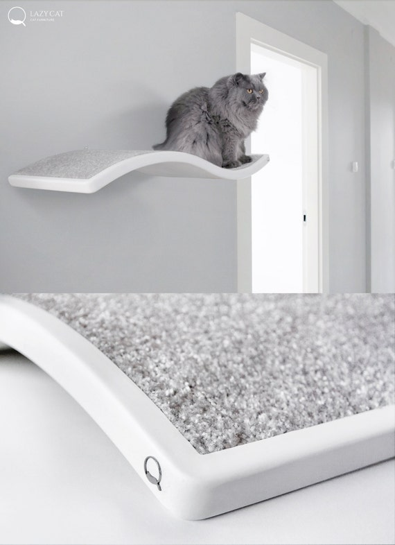 Cat Perch Shelf Wave Floating Cat Shelves Pet Design Cat