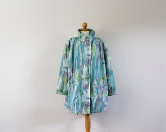 Vintage 1980s Lightweight Jacket | Oversized Jacket