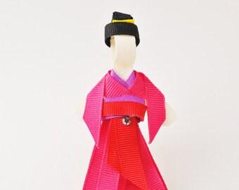 Mulan Ribbon Hair Clip