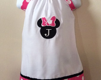 Pillowcase Dress - Minnie Mouse - Birthday outfit