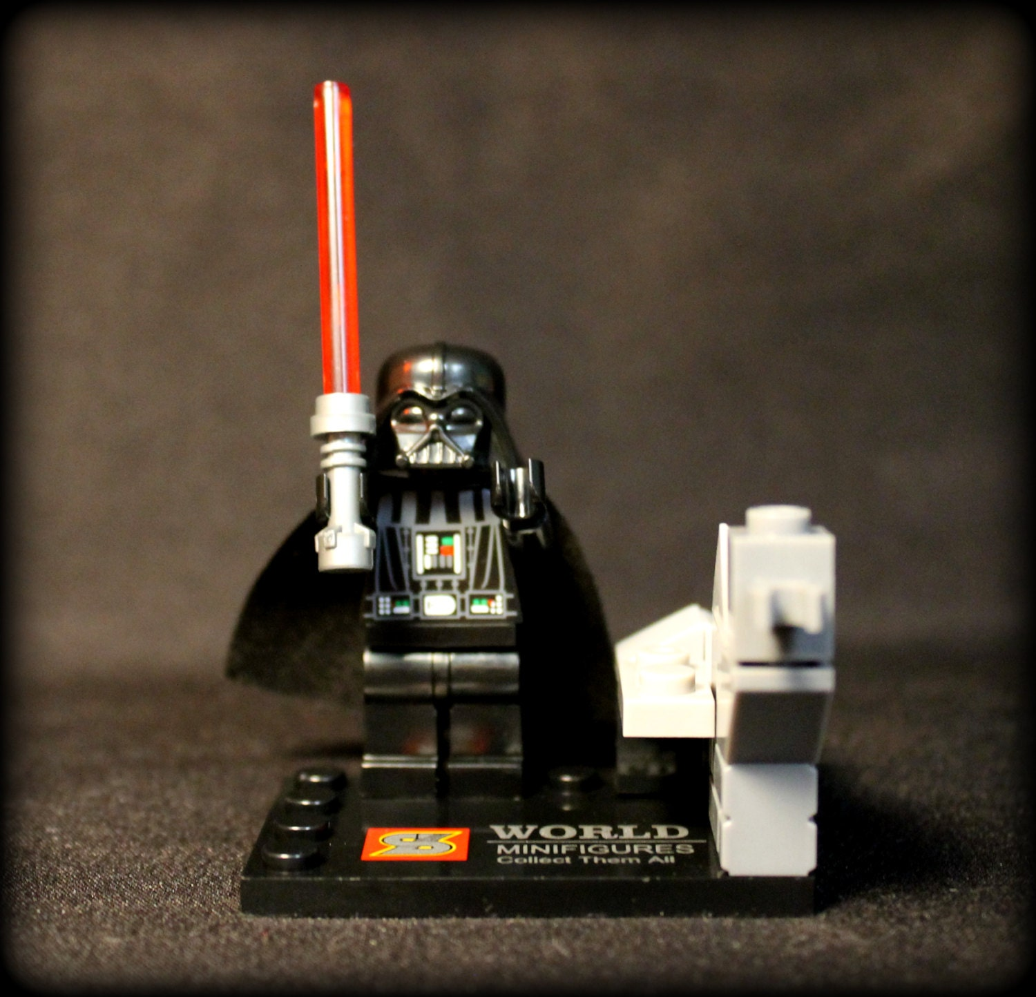 Darth Vader from Star Wars Custom Minifigure. Lego Compatible.