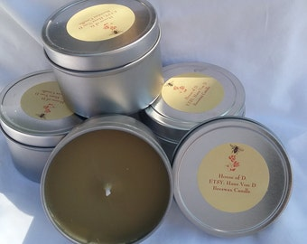 Travel Tin Candle  -  100% Bayberry