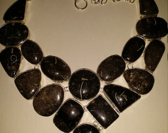 Sophisticated very stylish Jasper necklace 50% OFF was 60.00 NOW 30.00 !