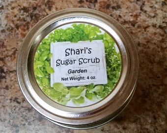 Gardener's Sugar Scrub