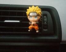 Naruto Uzumaki * Handmade, Car vent clip, car air freshener, car interior, car accessory, car fragrance