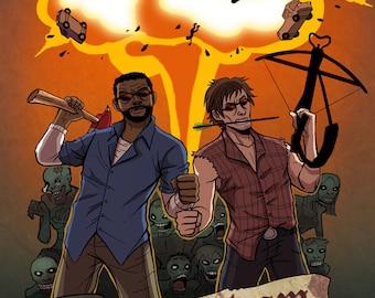 The Walking Dead Print: Dream Team