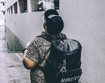 Black Backpack, Backpack Men, Large Backpack, Travel Backpack, College Backpack, Mens Gift, Mens Backpack, Laptop Backpack, Hipster Backpack