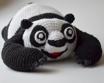 Crochet PATTERN -panda by Krawka