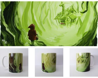 Heart Of The Woods - Fairytale Little Red Riding Hood Inspired 11 oz Mug