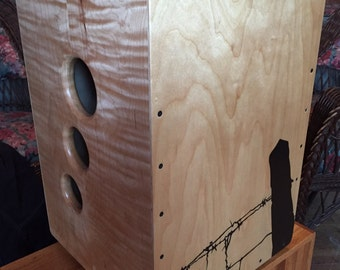 Curly Maple Cajon