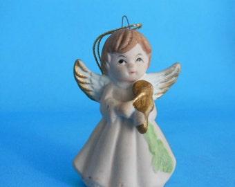 1960's Vintage Christmas Angel Figurine Ornament