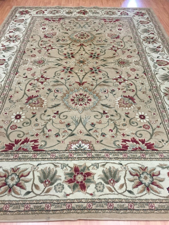 "7'9"" x 10'9"" Safavieh Lyndhurst Collection Oriental Rug - Persian Kashan Design"