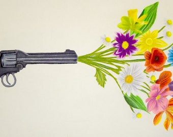 Guns and Flowers