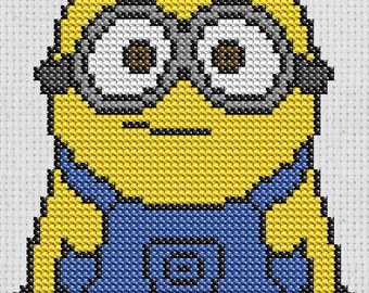 Minion Cross Stitch pattern digital download