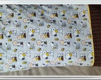 Charlie Brown and Snoopy Pillow Case