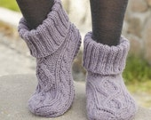 Socks in wool and alpaca, knitted hand, color choice, accessory of winter for women, teenager, free delivery for EU and Switzerland