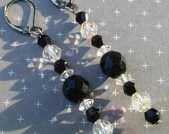 Crystal Icicle Earrings