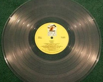 Clear Vinyl Record Etsy