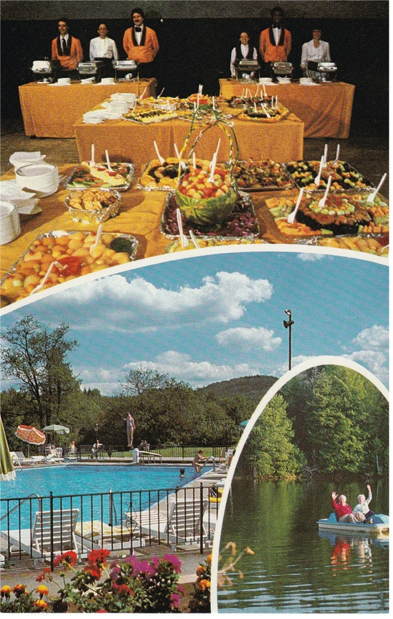 Parksville, NY - Paramount Hotel - Postcard