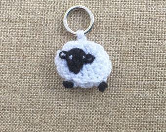 Lantern Moon Stitch Markers, Sheep Stitch Markers, Hand Crocheted Markers, Lantern Moon Accessories, Gift for Knitters, Lamb Stitch Markers