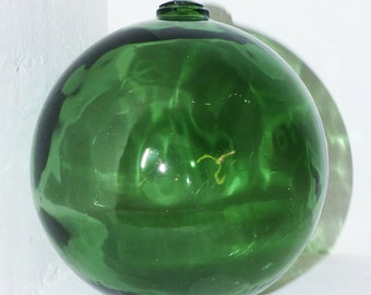 Green Glass Sea Ball - 193