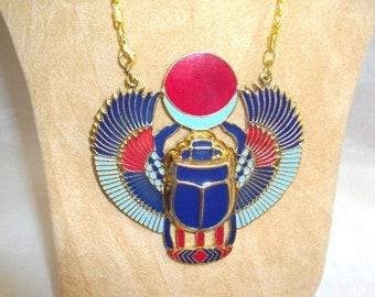 Scarab ancient Egyptian Pendant 77x72mm