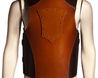 Medieval leather Soldier Armor, Viking SCA renaissance Larp