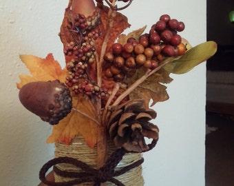 Autumn pencil holder