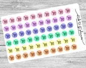 Planner Stickers, Life Planner Sticker, Erin Condren, Planner Accessory, Shopping Cart, Shopping