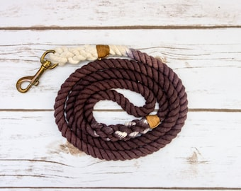Ombre Dog Leash - Choco Brown (20% OFF!)