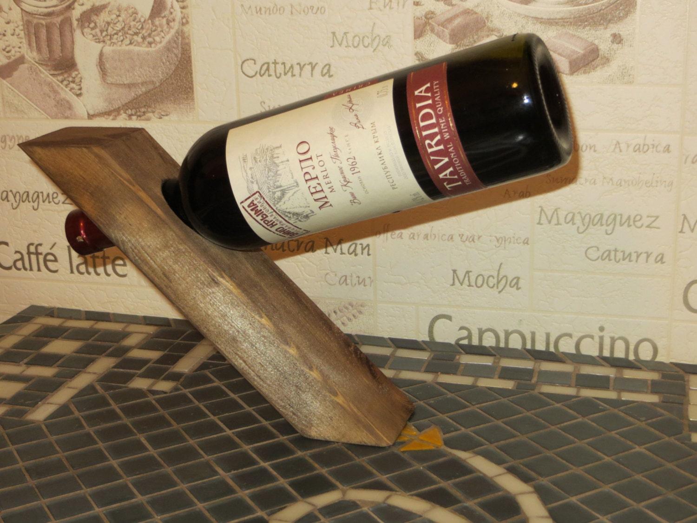 Flessenhouder fles balancer wijn kantelen wijn door MartelMosaic