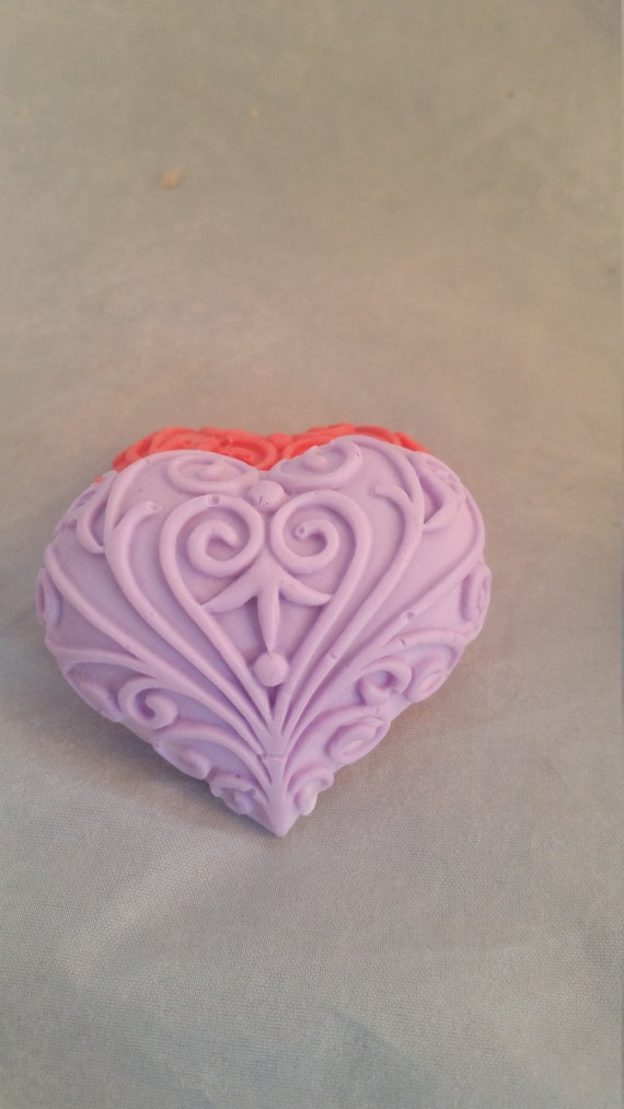 Home & Garden Bath Soap Heart-shaped Gift Nature Soap Toilet Soap Beautiful Love Soapy Wedding Valentines Day Party Fragrance Home Handmade