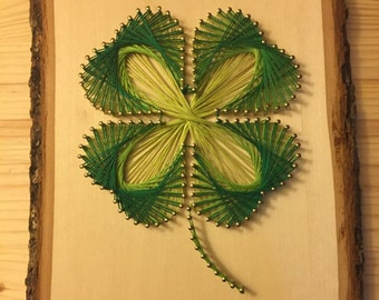 DIY Kit - Shamrock String Art