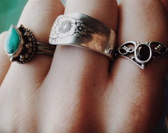 Size 9 spoon ring