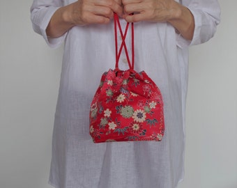 A drawstring  bag of Japan   Directing your personality In cool fashion accent plus!!