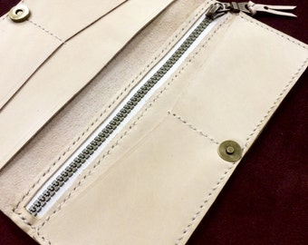 Leather Bifold - Natural