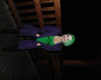 "Purple ""the Joker"" jacket"